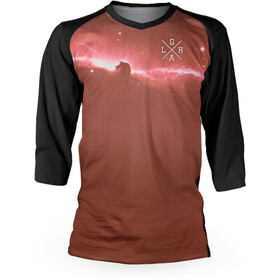 Loose Riders Nebula Warm 3/4 Trikot Herren red/black